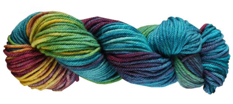 Peacock Skein Image