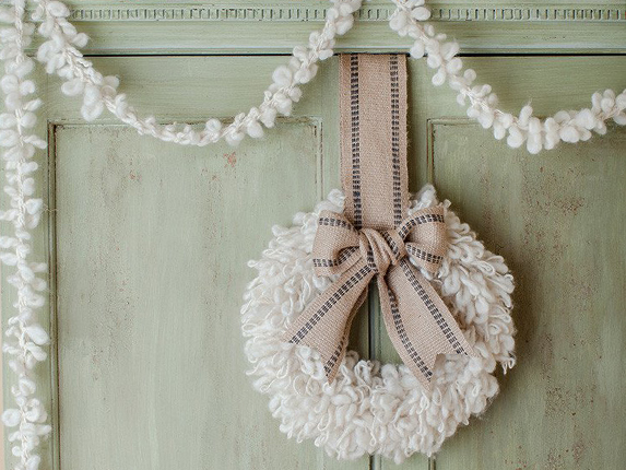 Woolly Wreath And Garland